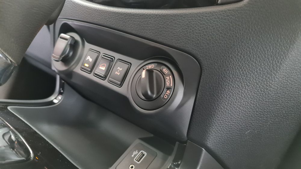 Nissan Navara Pro-4X 4WD system