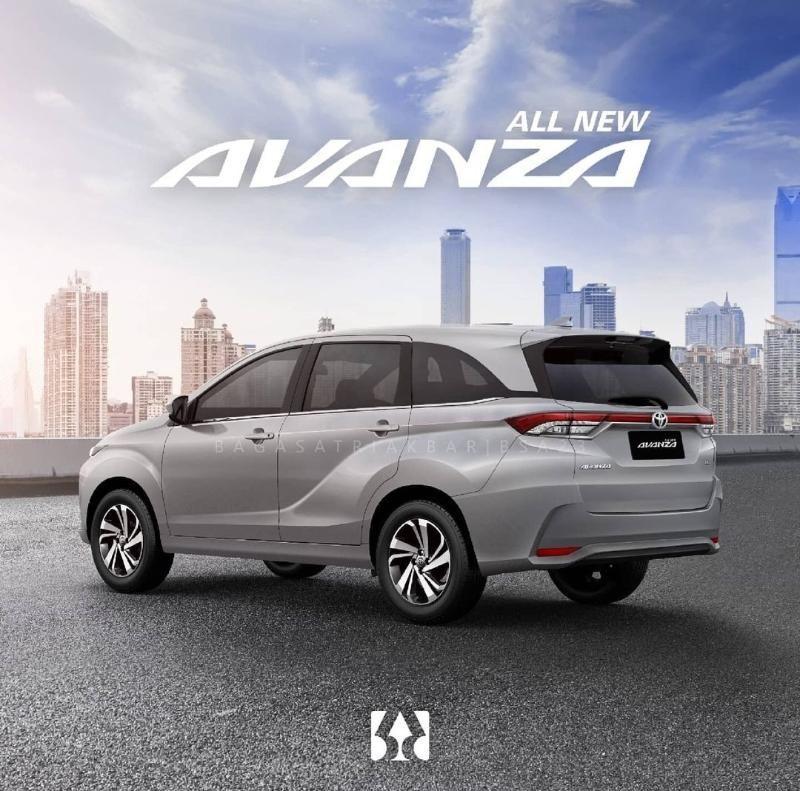 2022 Toyota Avanza Render