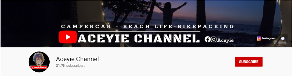 youtube campervan malaysia, aceyie channel, campercar