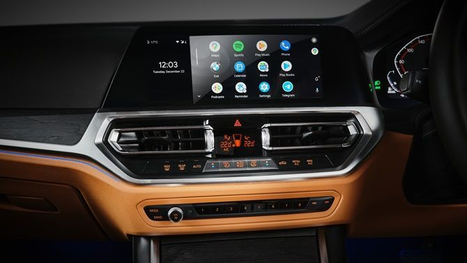 The Evolution Of Head Units And Navigation In Cars BMW G30 Interior