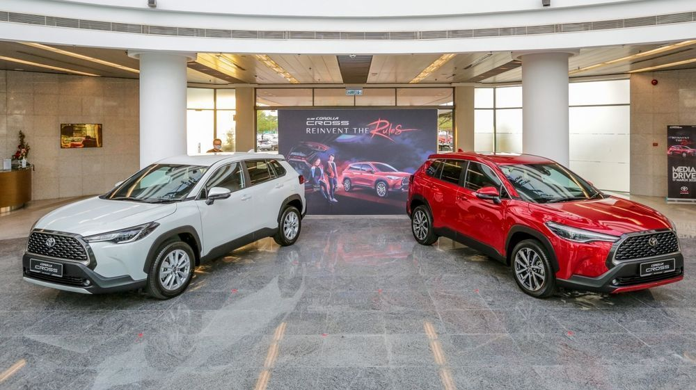 Used Car Sales 2021 -  Toyota Corolla Cross