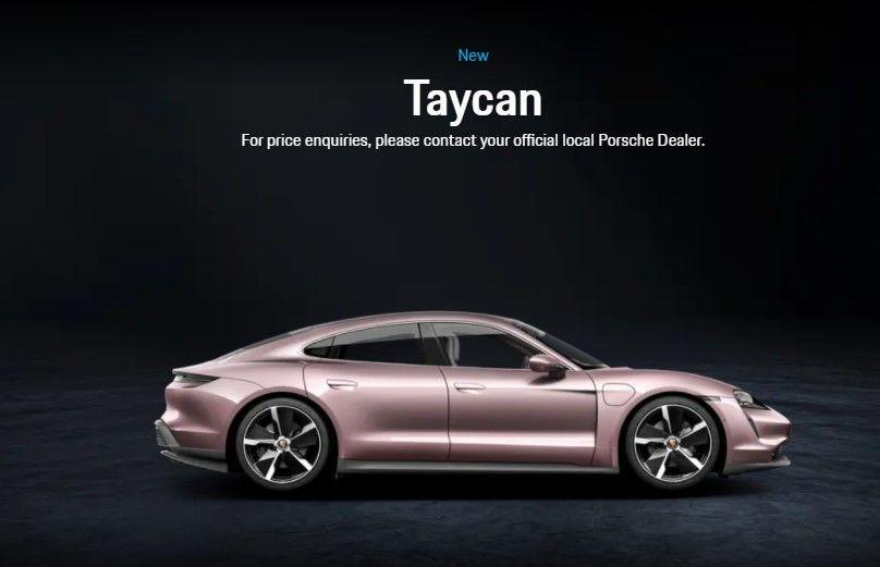Porsche Taycan Malaysia