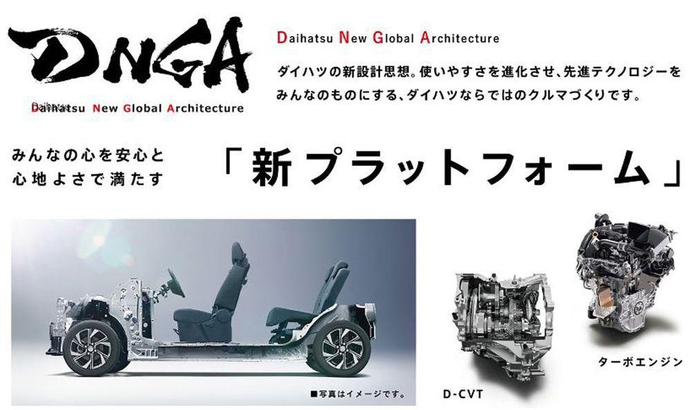 Daihatsu New Global Architecture DNGA