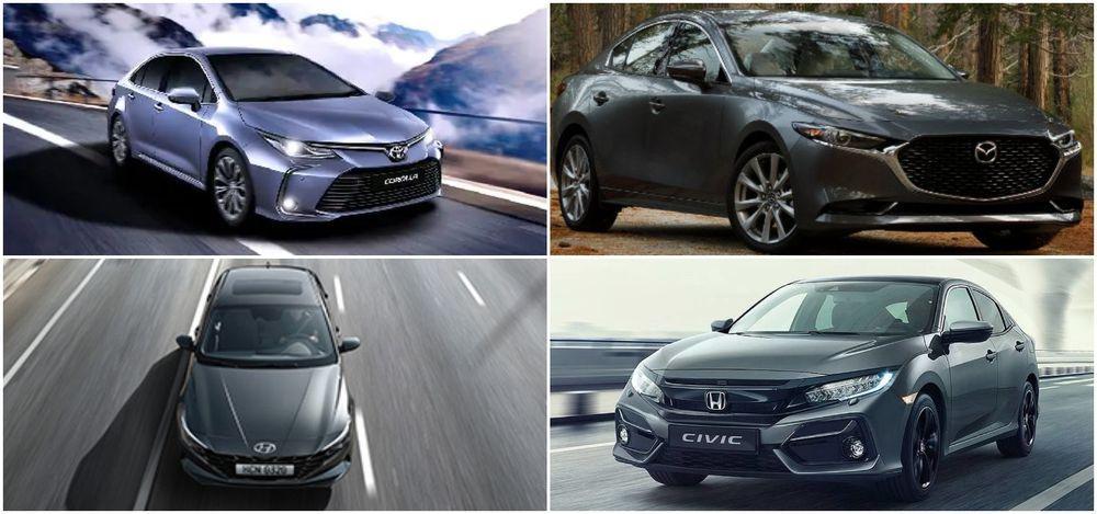 C-Segment Sedans driving dynamics