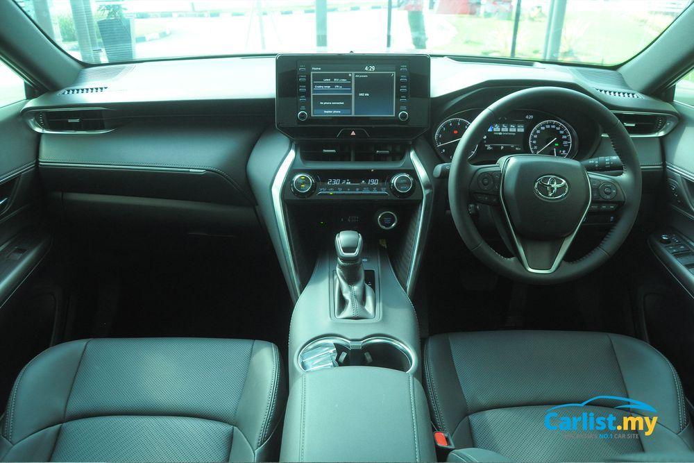 Toyota Harrier 2021,Malaysia,Interior,Dashboard