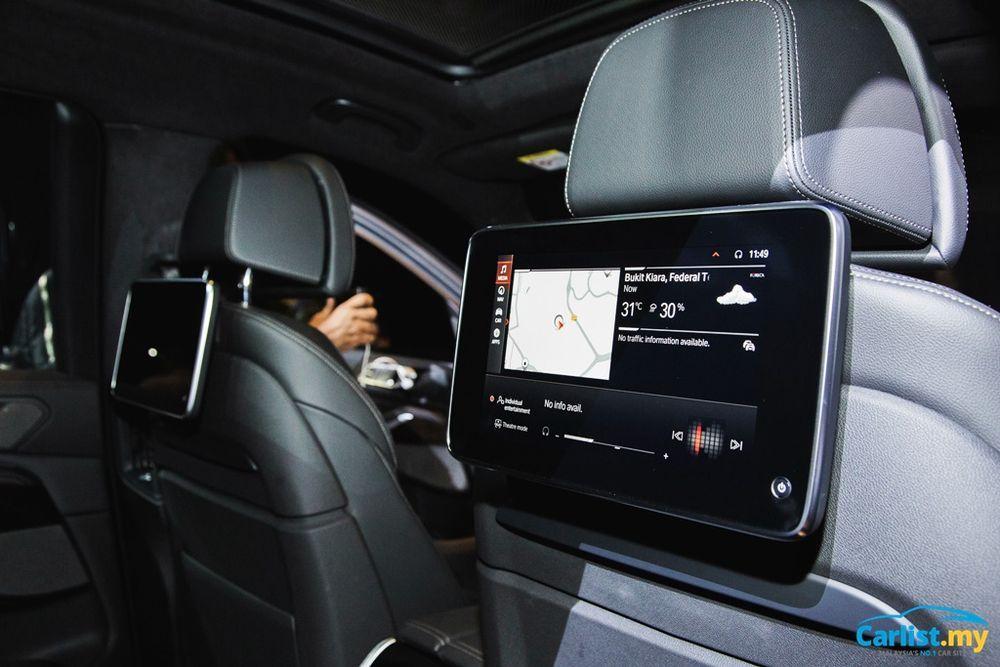 2021 BMW X7 xDrive40i Interior