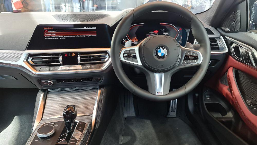 BMW 430i Coupé M Sport 2021, malaysia, interior