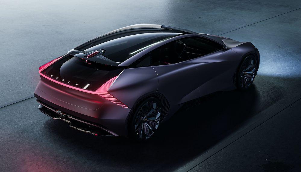 2021 Geely Starburst Concept
