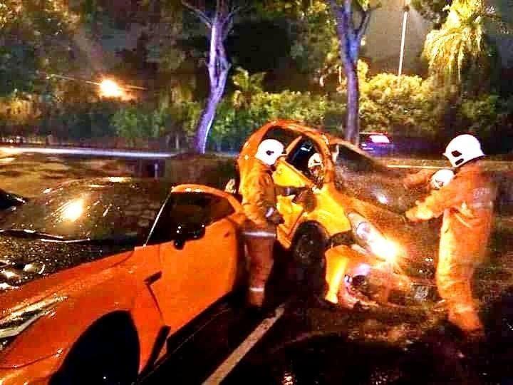 kemalangan antara kedua model kenderaan ini turut berlaku pada tahun 2019