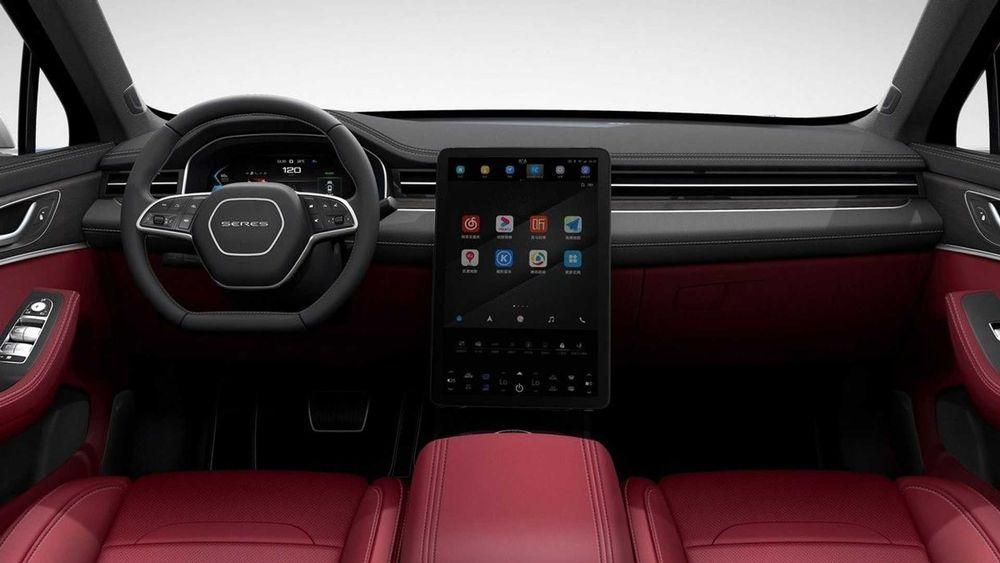 2021 Huawei Seres SF5 interior