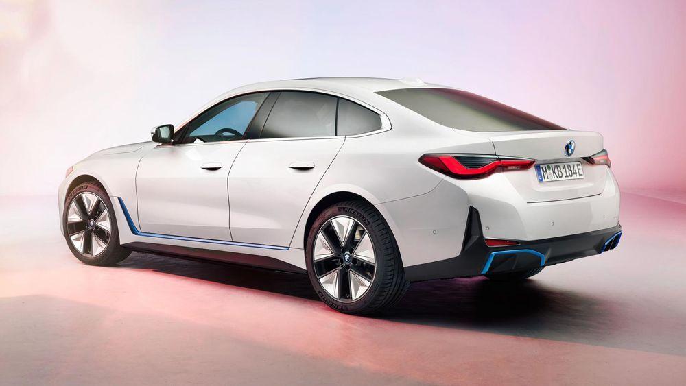 BMW Malaysia i4 Rear View