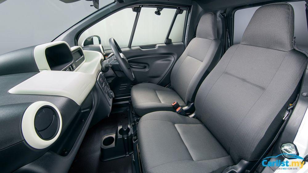 2020 Toyota C+Pod BEV Interior