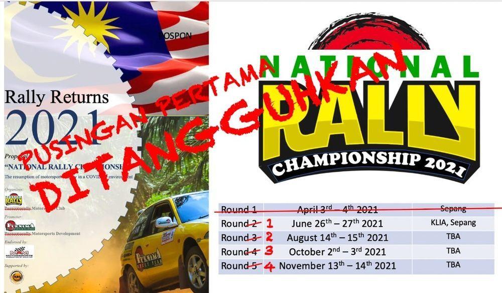 national rally championship,malaysia,2021