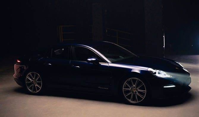 New Porsche Panamera Launched In Malaysia From RM 1026735 Front Three Quarter