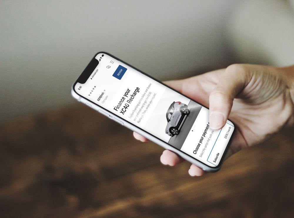 2021 Volvo C40 Recharge online store