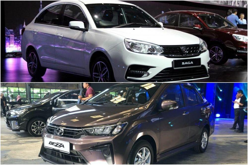 Proton Saga atau Perodua Bezza