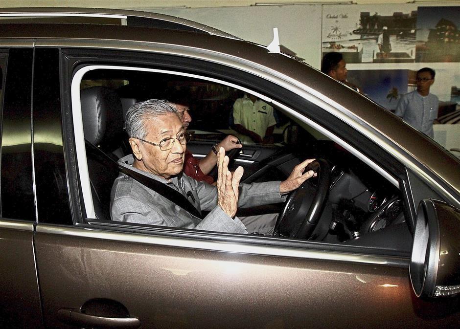 Tun Mahathir,Proton,Petronas,Formula one,Sepang,2021