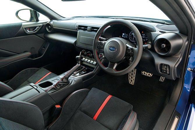 2021 Subaru Launches BRZ In Japan Interior