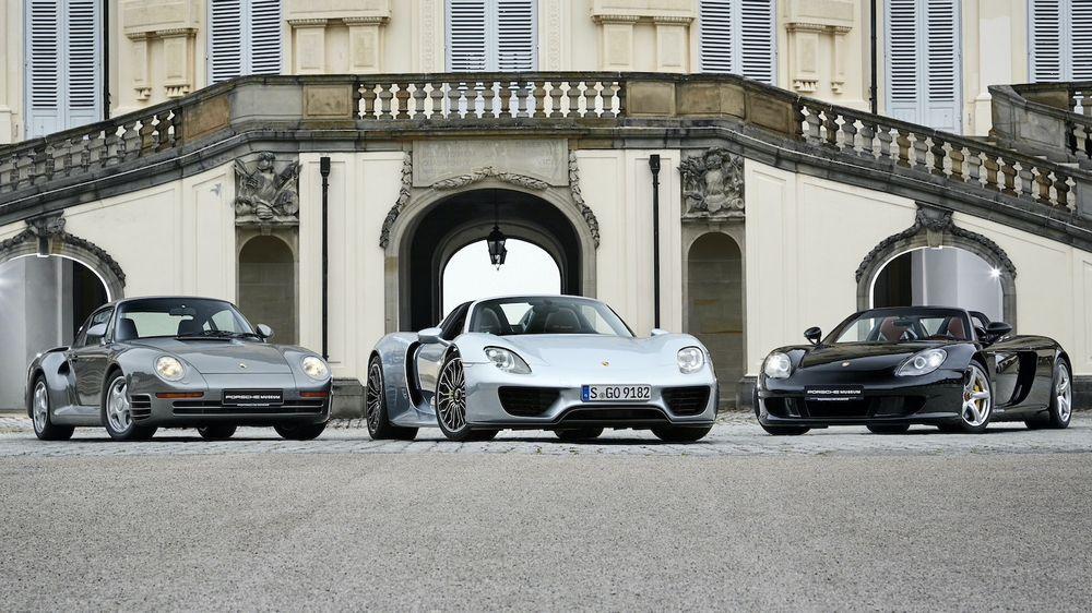 Porsche Supercars - Various