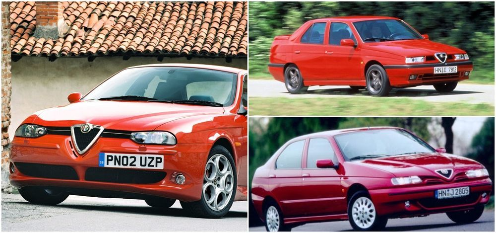 Alfa Romeo 155, 146 and 156