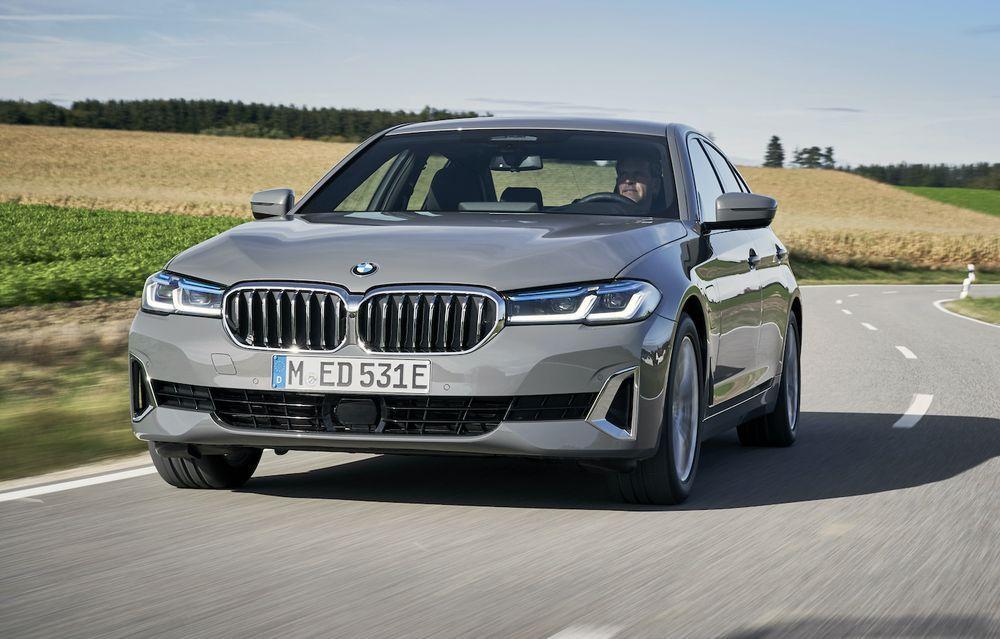 2021 BMW 520e PHEV