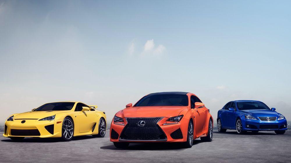 Lexus F Division - 2012
