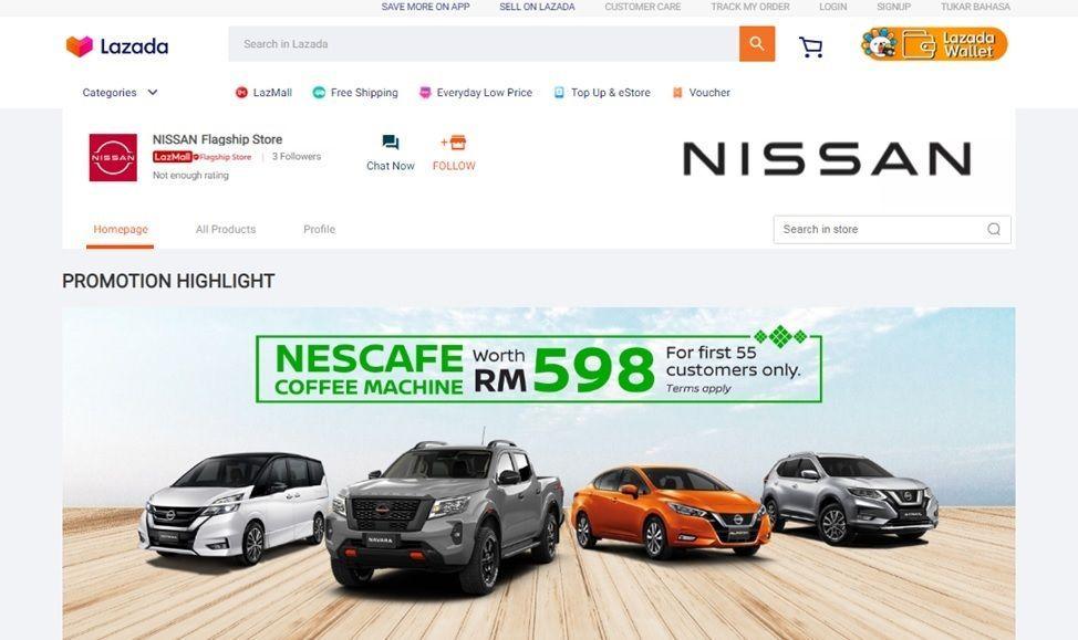 Nissan Edaran Tan Chong Motor Lazada