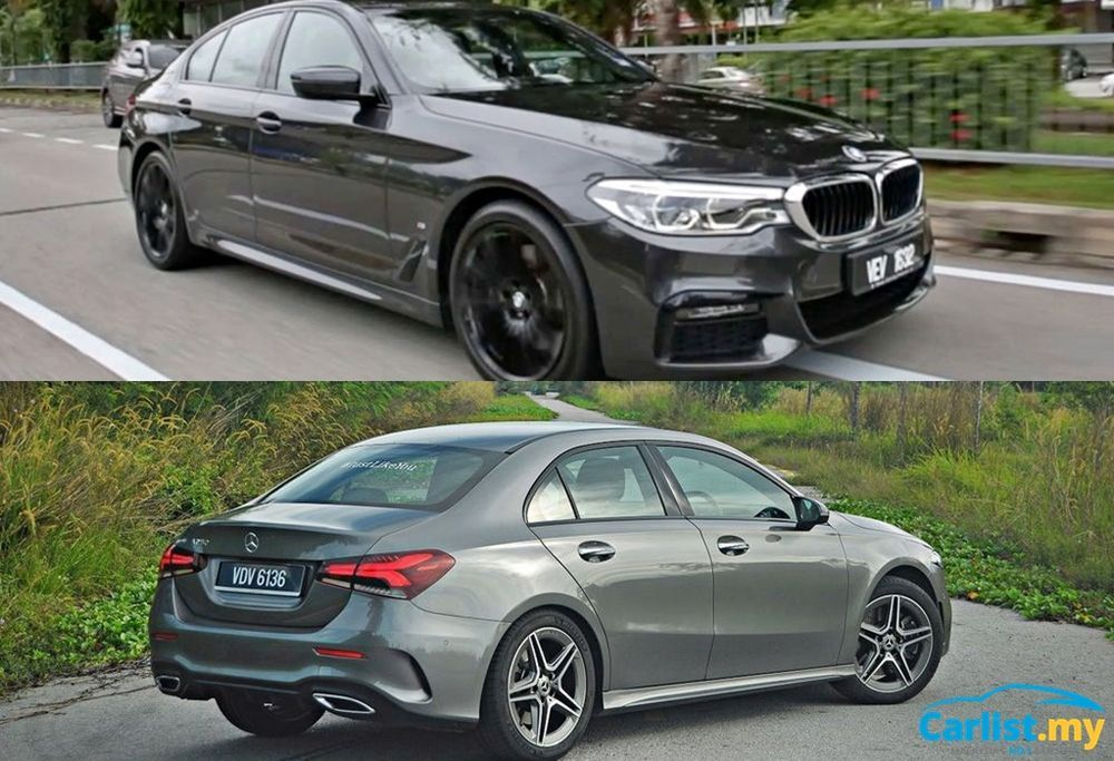 Aerodynamics 101: BMW G39 5 Series Mercedes-Benz A-Class Sedan V177