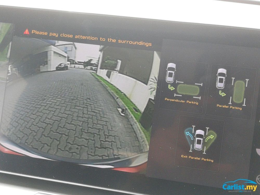 2020 Proton X50 Reverse camera