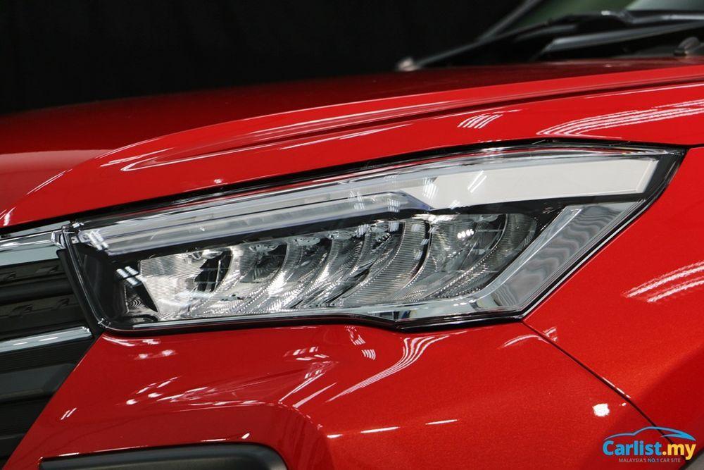 Perodua Ativa 2021, Perodua D55L, LED Headlamps