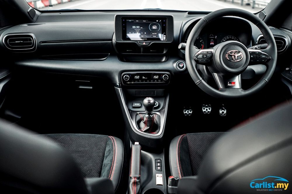 2020 Toyota GR Yaris Interior