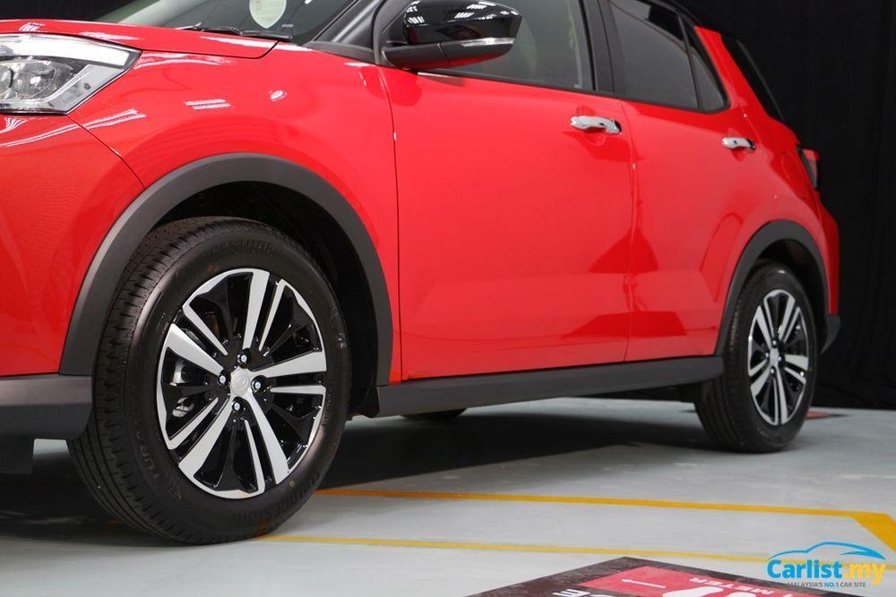 2021 Perodua Ativa wheelbase