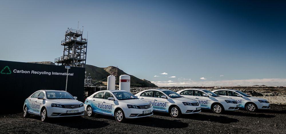 Geely Carbon Methanol Test Cars