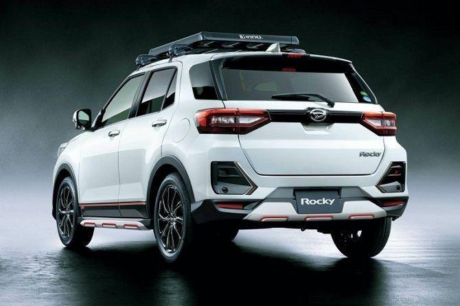 daihatsu rocky, nama baru perodua d55l, exterior, model terbaru perodua 2021, SUV