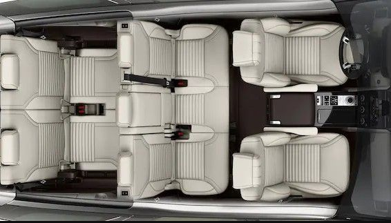 Land Rover Discovery seating