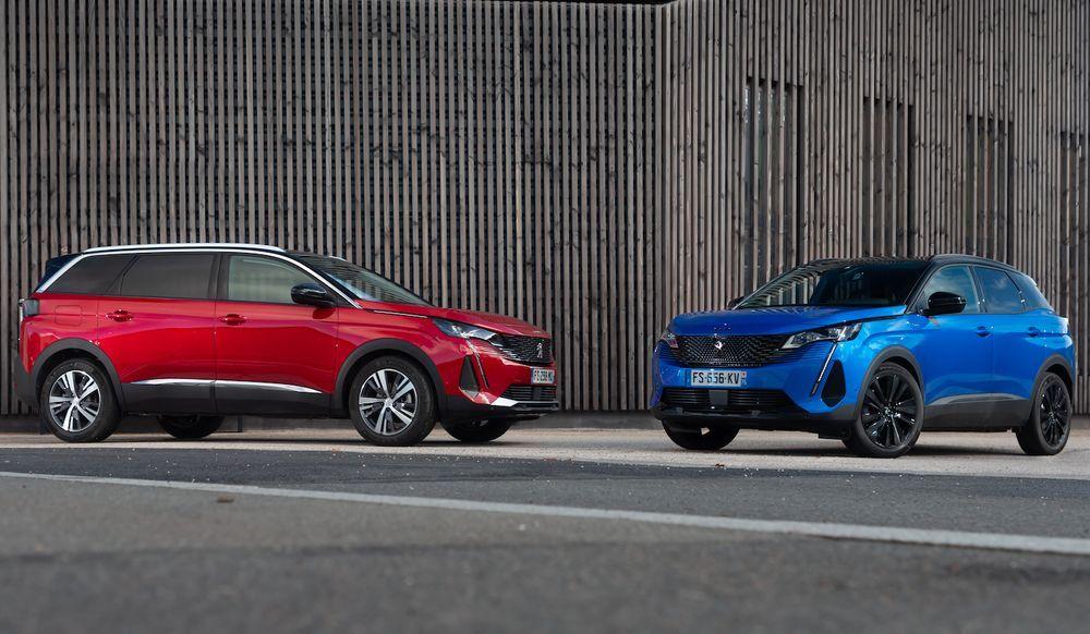2020 Peugeot 3008 Peugeot 5008