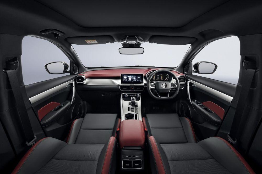 Interior design Proton X50, front panel