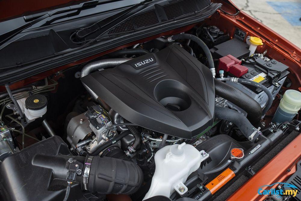 2021 Isuzu D-Max X-Terrain engine