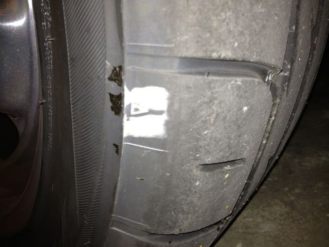 What Is Camber And Can You Have Too Much Of It Worn Out Tyre