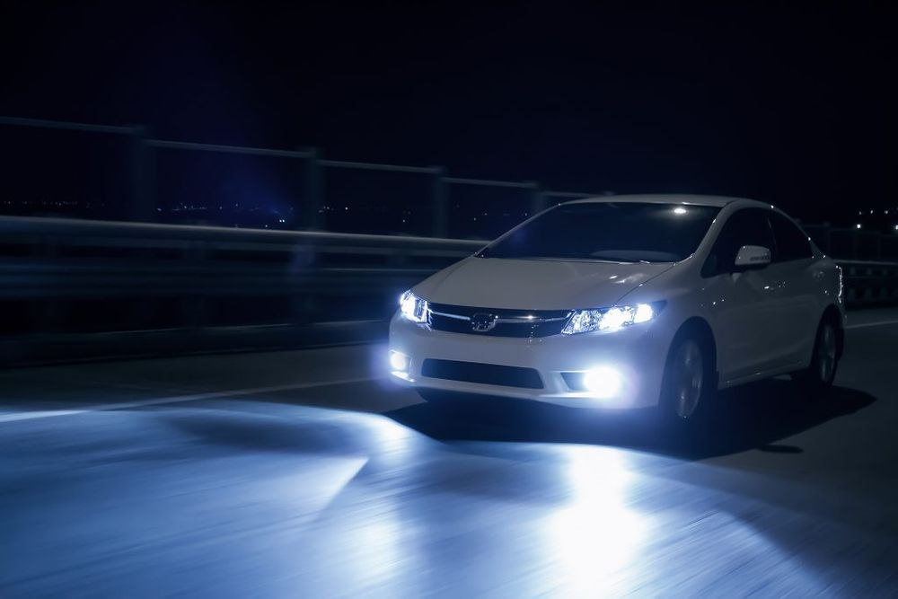 Check Car lights