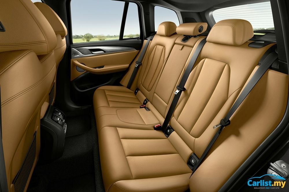 Facelifted BMW (G01) X3 and (G02) X4 LCI Interior