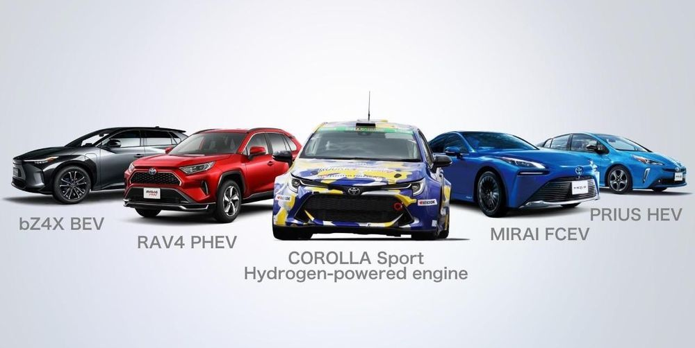 Toyota - Alternative Propulsion