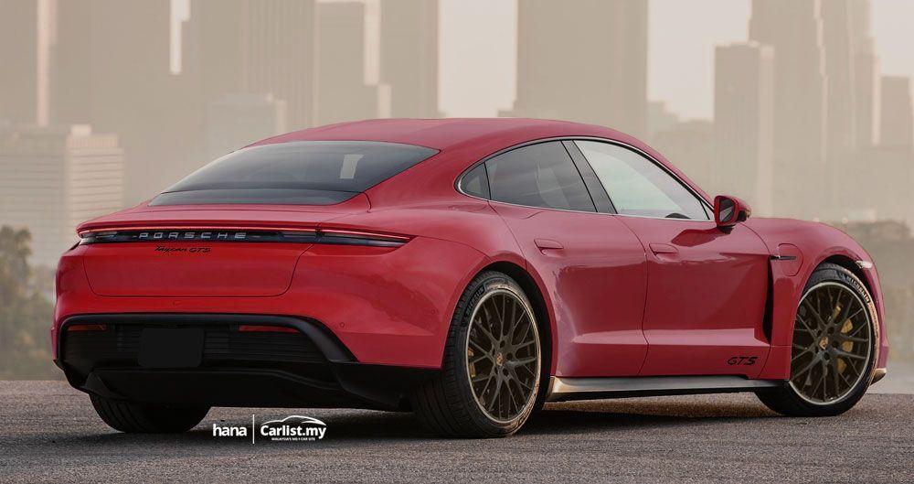 Porsche Taycan GTS Render