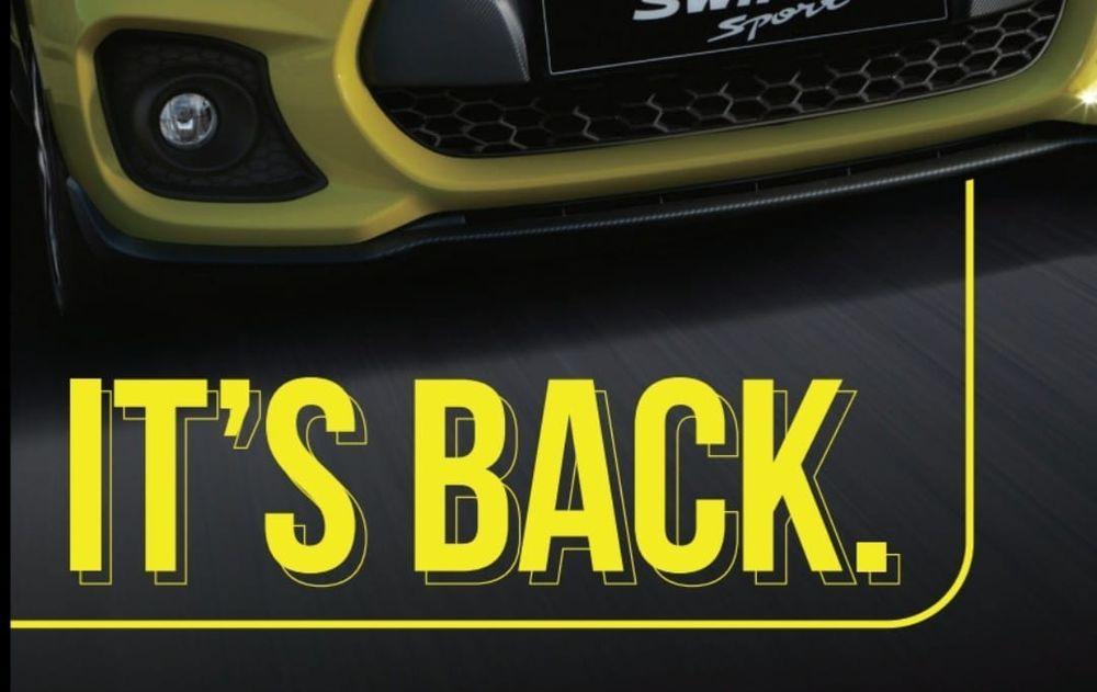 Suzuki Swift Sport 2021,Malaysia,Naza