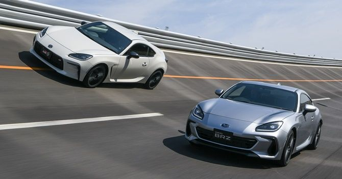 2021 Subaru Launches BRZ In Japan Side GR86