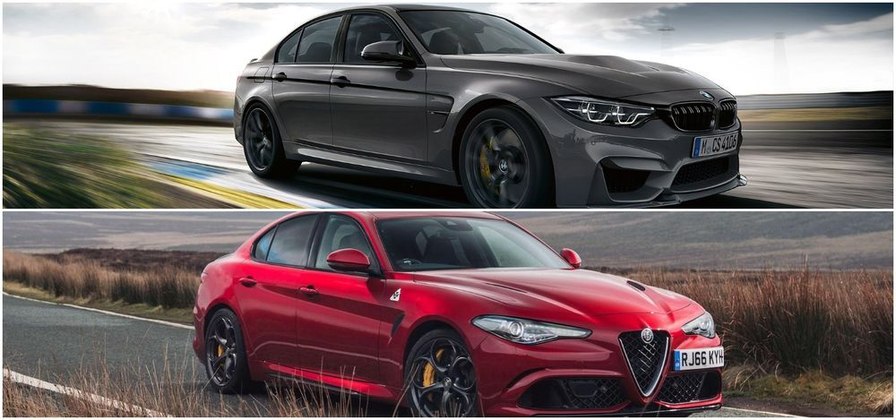 BMW M3 Comp and Alfa Romeo Giulia