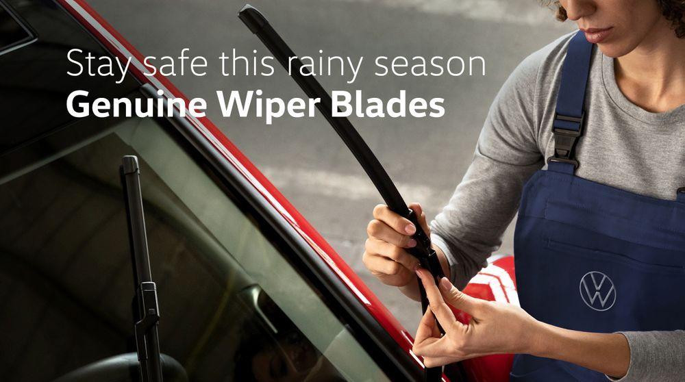 Volkswagen Raya Raya Wiper Blade promotion