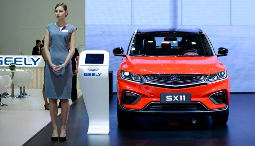 2019 Geely SX11 - Russia
