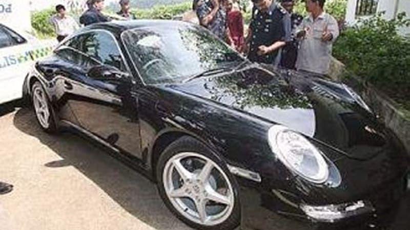Stolen recovered Porsche 911
