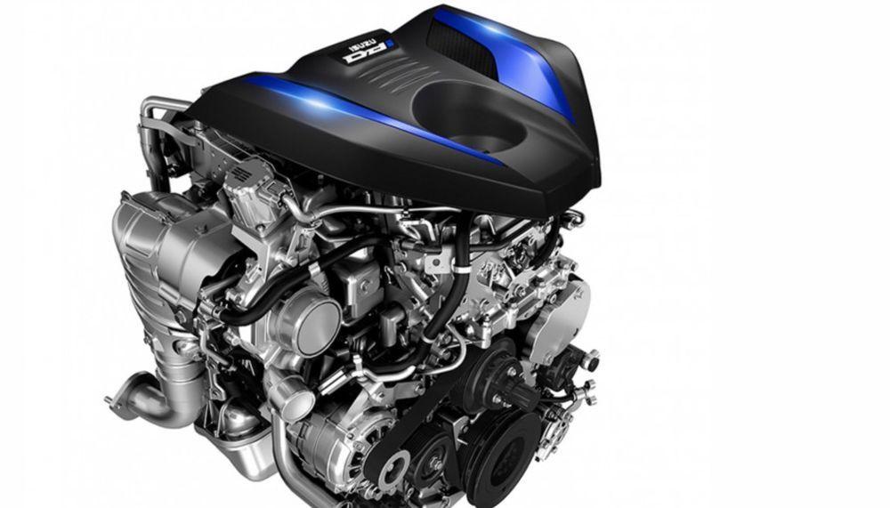 Enjin D-Max memberikan kuasa maksimum sehingga 165PS dan 360Nm Tork.